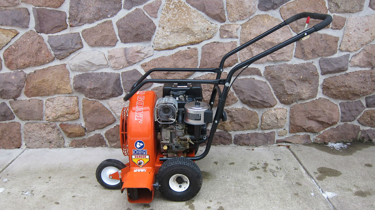 1 4 Hp Billy Goat Blower : Billy goat hp commercial walk behind leaf blower with