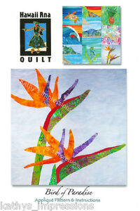 Birds of Paradise by Global Nomad | Quilting Pattern