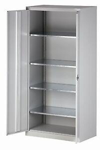 bisley aktenschrank hc782s4g645 stahlschrank 50 cm tief. Black Bedroom Furniture Sets. Home Design Ideas