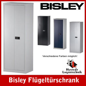 bisley stahlschrank aktenschrank lichtgrau 600 mm breit ebay. Black Bedroom Furniture Sets. Home Design Ideas