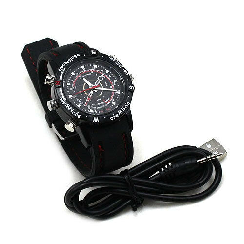 BK 8GB Spy Watch Video Recorder-Hidden Camera DVR Waterproof Camcorder 1280x960 in Consumer Electronics, Home Surveillance, Digital Video Recorders, Cards | eBay
