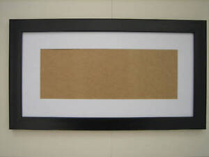 black 8 x 16 picture photo frame mount 4 5 x 12 5 to hang ebay. Black Bedroom Furniture Sets. Home Design Ideas