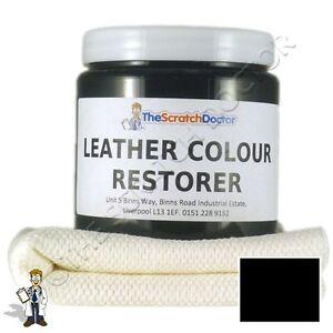 black leather dye colour restorer for audi leather car interiors seats etc ebay. Black Bedroom Furniture Sets. Home Design Ideas