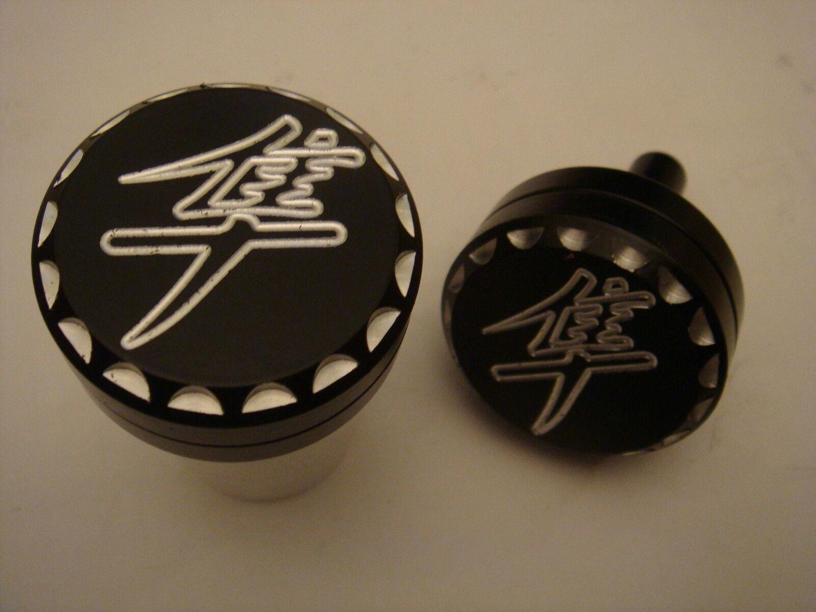 Black Kanji Suzuki Hayabusa 1300 Scale Cut Frame Sliders