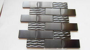 stainless steel subway mosaic tile backsplash mosaic metal tile new