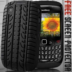 BLACK-TYRE-SILICONE-CASE-FOR-BLACKBERRY-CURVE-8520-9300