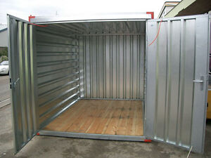 blechcontainer 2 25 x 2 m lagercontainer seecontainer ebay. Black Bedroom Furniture Sets. Home Design Ideas
