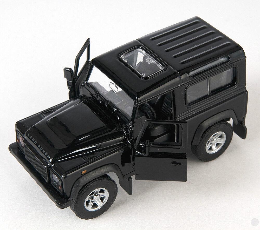 white Welly Modell Auto 1:34 NEU /& OVP BLITZ VERSAND Land Rover Defender weiss