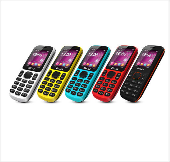 Blu Jenny TV T172T Dual Sim Quadband Unlocked GSM Cell Phone