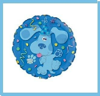 BLUES CLUES balloons party supplies decoration birthday 1ST 2ND 3RD nick jr new in Home & Garden, Holidays, Cards & Party Supply, Party Supplies | eBay
