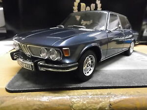 bmw 2500 e3 limousine met grau blau blue 1968 bos resin 1. Black Bedroom Furniture Sets. Home Design Ideas
