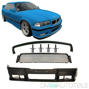 BMW-E36-Stossstange-M3-Look-Coupe-Cabrio-Limousine-Touring-Compact-Lippe-Nieten