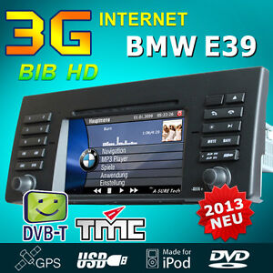 bmw e39 e53 x5 e38 auto dvd gps navi autoradio 5er 2 zone. Black Bedroom Furniture Sets. Home Design Ideas