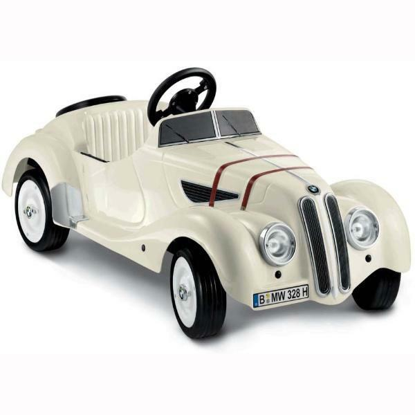 Bmw White Classic 328 Roadster Pedal Car Kids Toy On Popscreen