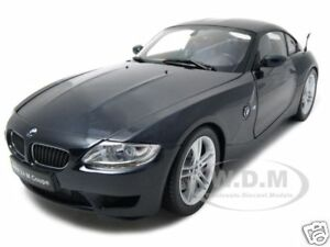 Bmw Z4m Z4 M Coupe Black 1 18 Kyosho Model Car Ebay