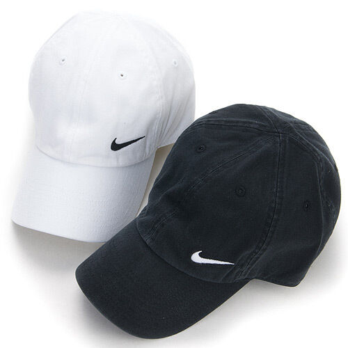 bn nike sport hat size black or white