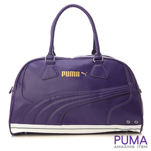 BN PUMA Volcano Travel Gym Bag Purple on PopScreen c28f6320d60dc