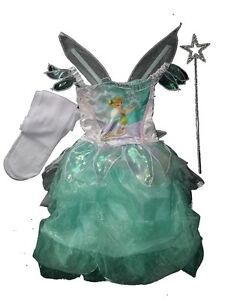 BNWT-EX-STORE-TINKERBELL-FANCY-DRESS-DRESSING-UP-SET-COSTUME-3-4-YRS