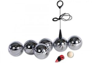boccia bocciatasche 6 kugeln boule spiel f r drau en eisenkugel magnetband ebay. Black Bedroom Furniture Sets. Home Design Ideas