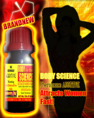 Details zu Pheromone SET: BODY SCIENCE ADDITIVE + XUDE! FLUID + Pheromatic + STRONG + XOXO