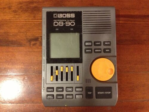 BOSS Dr. Beat DB-90 in Musical Instruments & Gear, Equipment, Metronomes | eBay