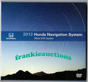 Acura Navigation  on Navigation System 2012 White Dvd  Map Update V4 A2    5 36 Gb Dvd