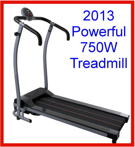 *BRAND NEW* 750W ELECTRIC FOLDING TREADMILL W/ DURA TRACK MOTORIZED TRACK BELT in Sporting Goods, Exercise & Fitness, Gym, Workout & Yoga | eBay
