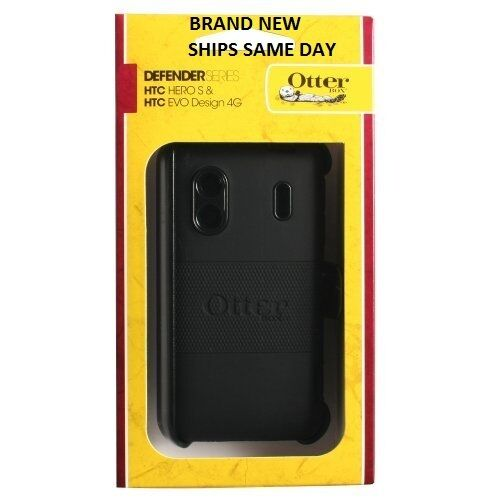 BRAND NEW BLACK OtterBox Defender Case for HTC Hero S & EVO Design 4G in Cell Phones & Accessories, Cell Phone Accessories, Cases, Covers & Skins | eBay