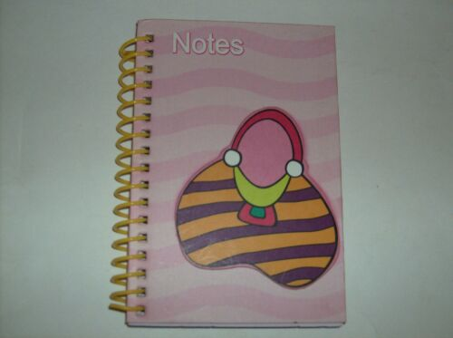 BRAND NEW COLORFUL NOTE PAD BOOK WITH PURSE DESIGN in Books, Accessories, Blank Diaries & Journals | eBay