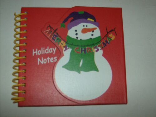 BRAND NEW CUTE SNOWMAN HOLIDAY NOTES BOOK in Books, Accessories, Blank Diaries & Journals | eBay