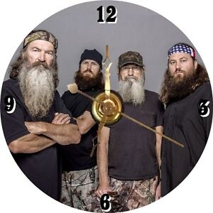 brand new duck dynasty cast cd clock ebay