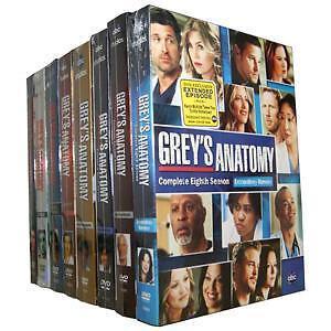 BRAND NEW Greys Anatomy Season 1 8; 1 2 3 4 5 6 7 8 Dvd Complete Box