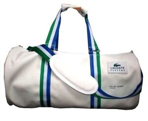 BRAND-NEW-LACOSTE-Men-Duffle-Sports-Gym-Bag
