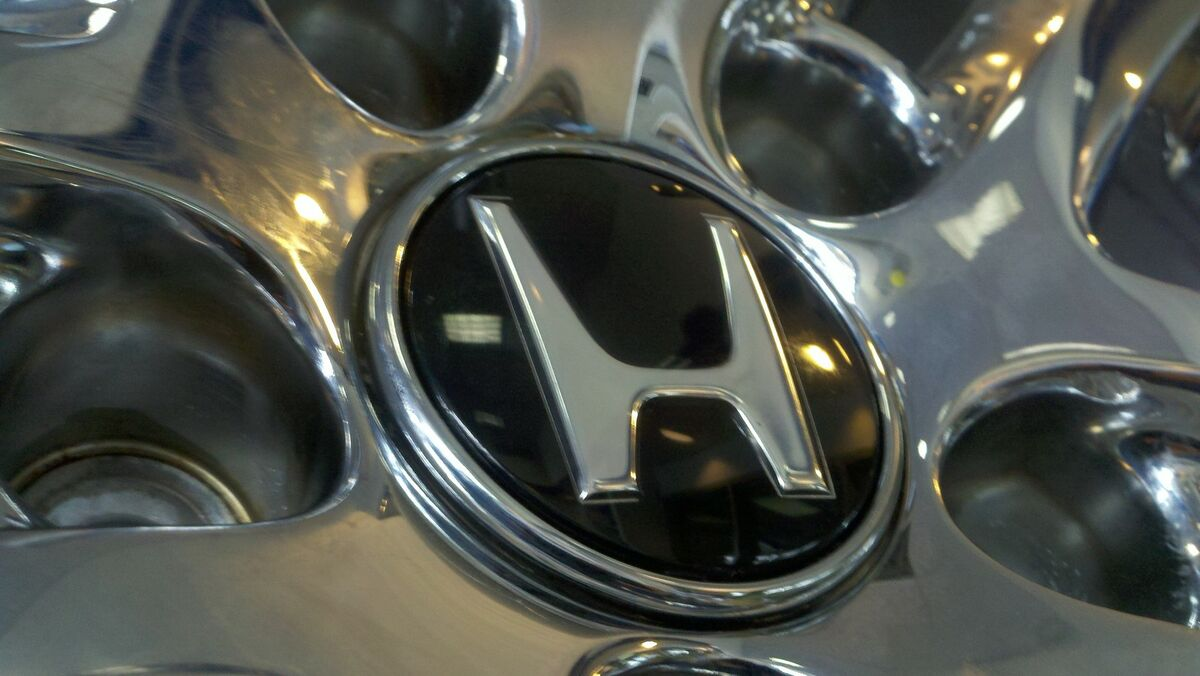 Brand New Genuine Honda Alloy Rim Wheel Black Center Cap Chrome Emblem