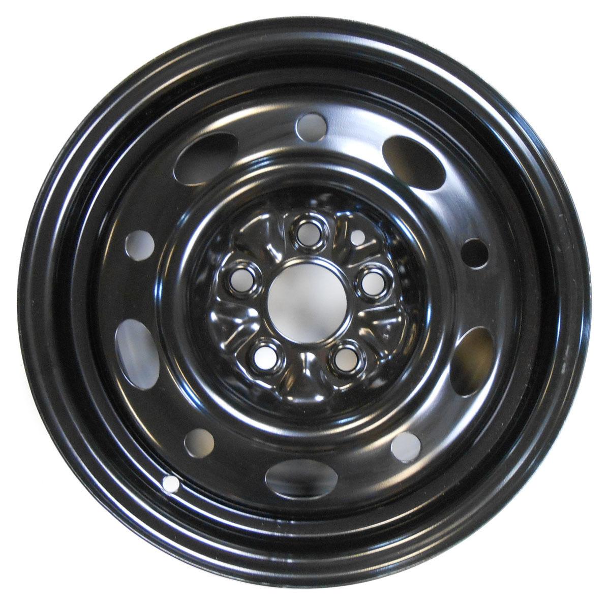 Brand New Mopar Chrysler Dodge Jeep Plymouth Wheel Tire Rim Black Steel
