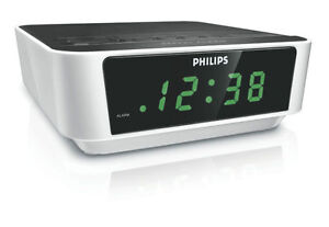 BRAND-NEW-Philips-AJ3112-Compact-design-Clock-Radio-AM-FM