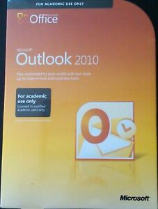 BRAND NEW SEALED MICROSOFT OUTLOOK 2010 - IN STOCK in Computers/Tablets & Networking, Software, Office & Business | eBay