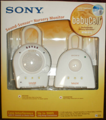 BRAND NEW SONY Baby Call Model NTM910 - Sound Sensor Nursery Baby Infant Monitor in Baby, Baby Safety & Health, Baby Monitors | eBay