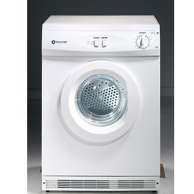 White Knight C44a7w 44a7w Reverse Vented Tumble Dryer