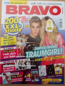 BRAVO-29-10-7-2013-1-Bieber-Cara-Rihanna-Miley-2-Umschlag-mit-200-Stickern