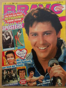 BRAVO-32-30-7-1981-3-Shaky-Eike-Immel-Bruce-Lee-Dallas-Coverdale-Halen-A-Ant
