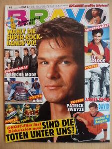 BRAVO-45-31-10-1990-2-P-Swayze-David-Hasselhoff-Janet-Jackson-Nicole-Uphoff