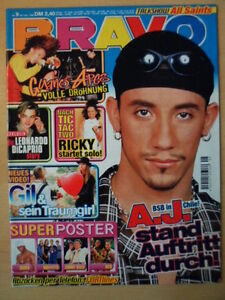 BRAVO-9-26-2-1998-Backstreet-Boys-A-J-Guano-Apes-Leonardo-Dicaprio-Gil-Ricky