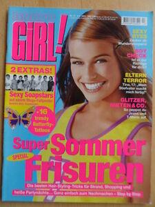 BRAVO-GIRL-13-6-6-2001-Mode-Beauty-Erotik-Megafaltposter-Sexy-Soapstars