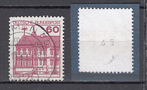 BRD-1979-Mi-Nr-1028-R-Gestempelt-Rollmarke-mit-Nr-TOP-20308