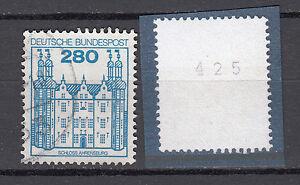 BRD-1982-Mi-Nr-1142-R-Gestempelt-Rollmarke-mit-Nr-TOP-20343