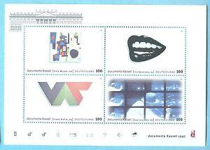 BRD-BUNDESREPUBLIK-BLOCK-DOCUMENTA-KASSEL-1997