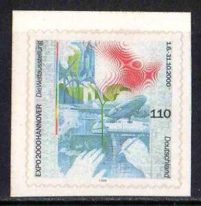 BRD / Bund - Mi-Nr. 2112 ** EXPO 2000 HANNOVER - selbstklebend - Deutschland, Deutschland - BRD / Bund - Mi-Nr. 2112 ** EXPO 2000 HANNOVER - selbstklebend - Deutschland, Deutschland