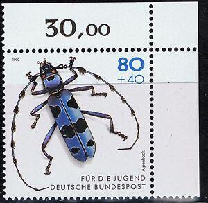 BRD Mi.- Nr. 1666 Ecke oben rechts postfrisch - Deutschland - BRD Mi.- Nr. 1666 Ecke oben rechts postfrisch - Deutschland