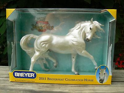 BREYERFEST 2011 CELEBRATION HORSE PECOS #711213--WOWEE!